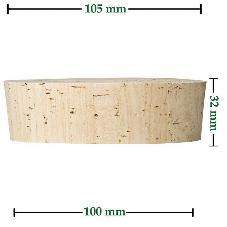 Fasskorken Größe 32x105/100mm kaufen