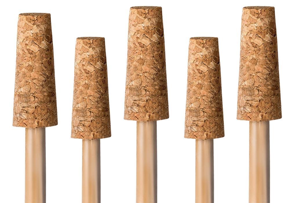 3 Stück für 12-16 cm Kugeln Ersatzkorken für Gartenkugel Rosenkugel-Korken