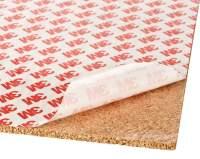 Korkplatte mit hochwertiger Klebefolie